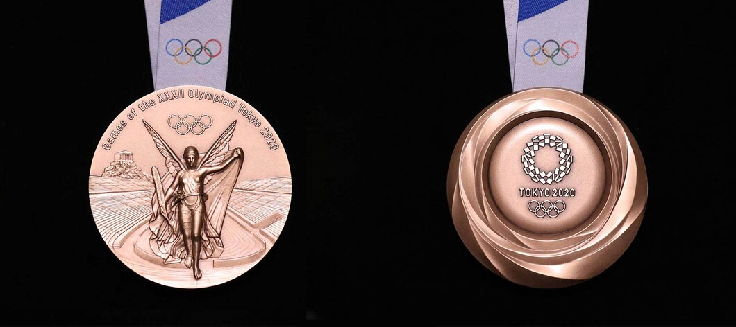 Tokyo 2020 Olympic bronze medal