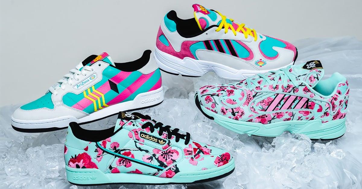 Adidas x AriZona Iced Tea sneakers