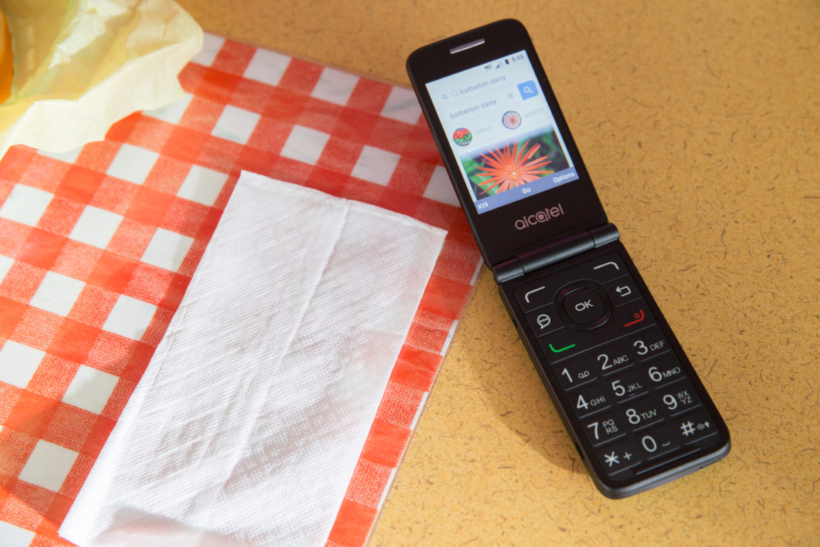 Alcatel is bringing back the flip phone with the GO FLIP V 13