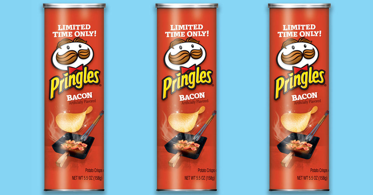 bacon pringles - Mac 'N Cheese Pringles are back on shelves for a limited time