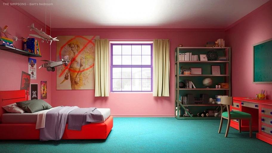 Bart's original bedroom