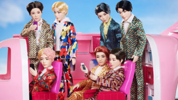 Mattel's BTS fashion dolls