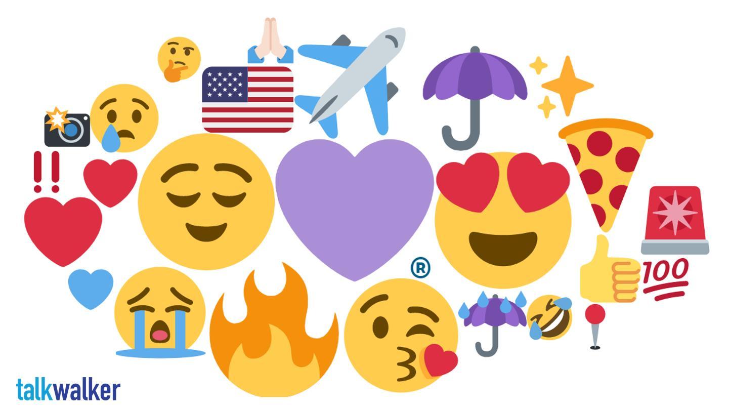 Chicago emoji heat map