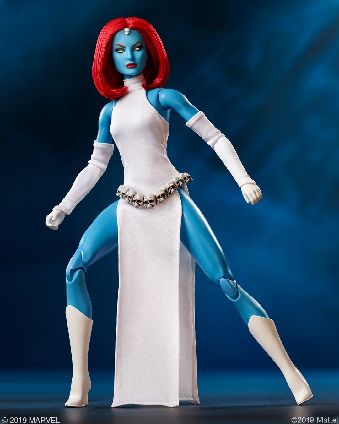 Mystique Barbie doll