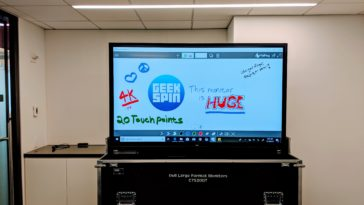 Dell 75 4K Interactive Touch Monitor C7520QT review 16