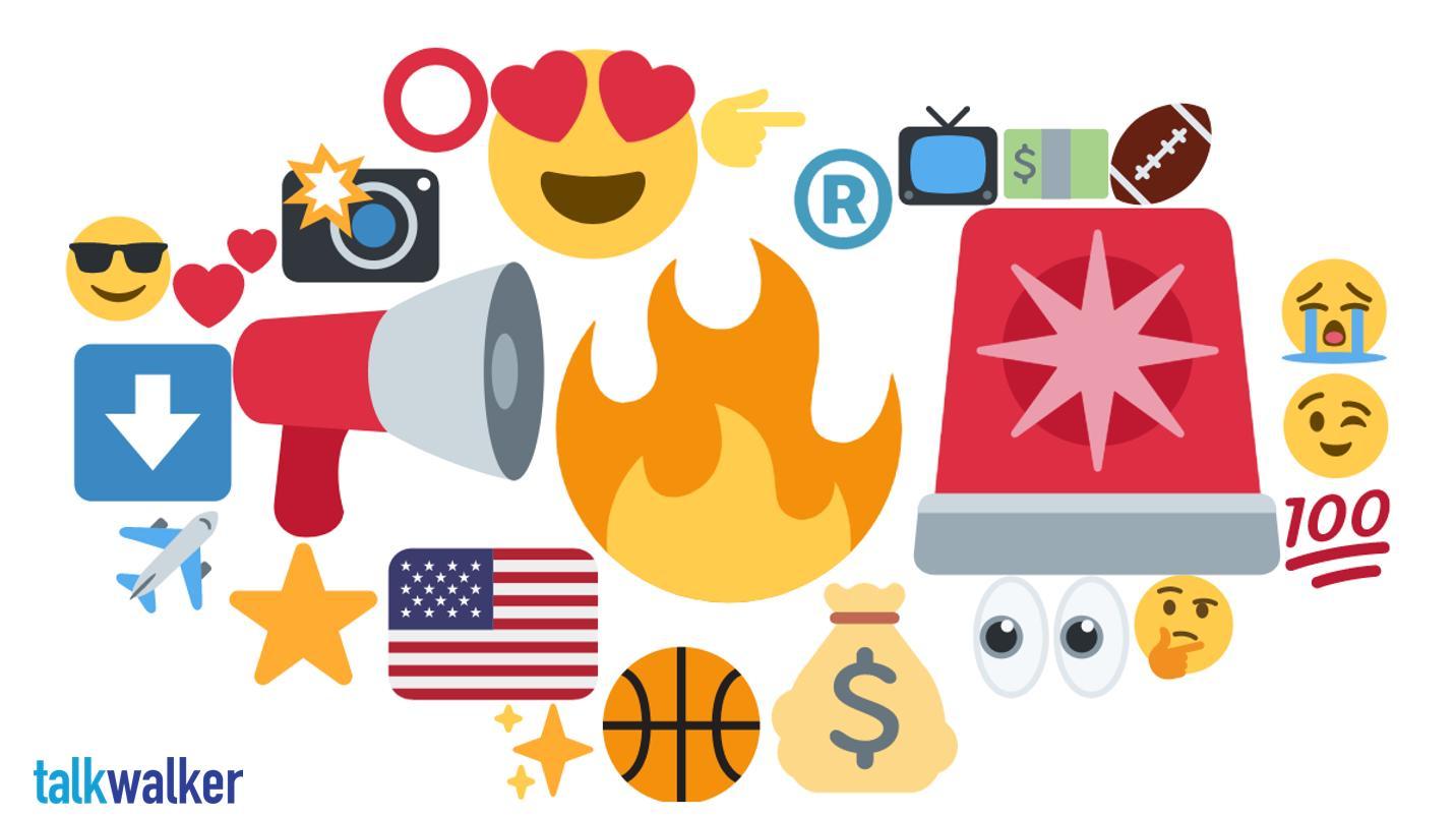 Denver emoji heat map