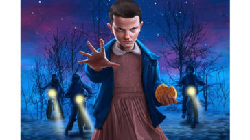 Eleven leads a search party for Will