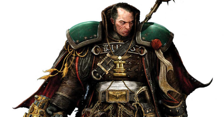 Gregor Eisenhorn of Warhammer 40,000