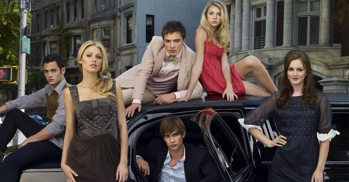 The cast of the original Gossip Girl