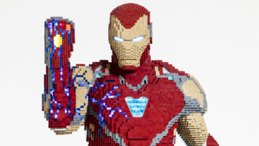 Iron Man Lego Model
