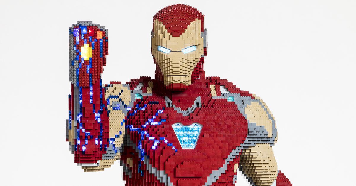 Iron Man Lego Model