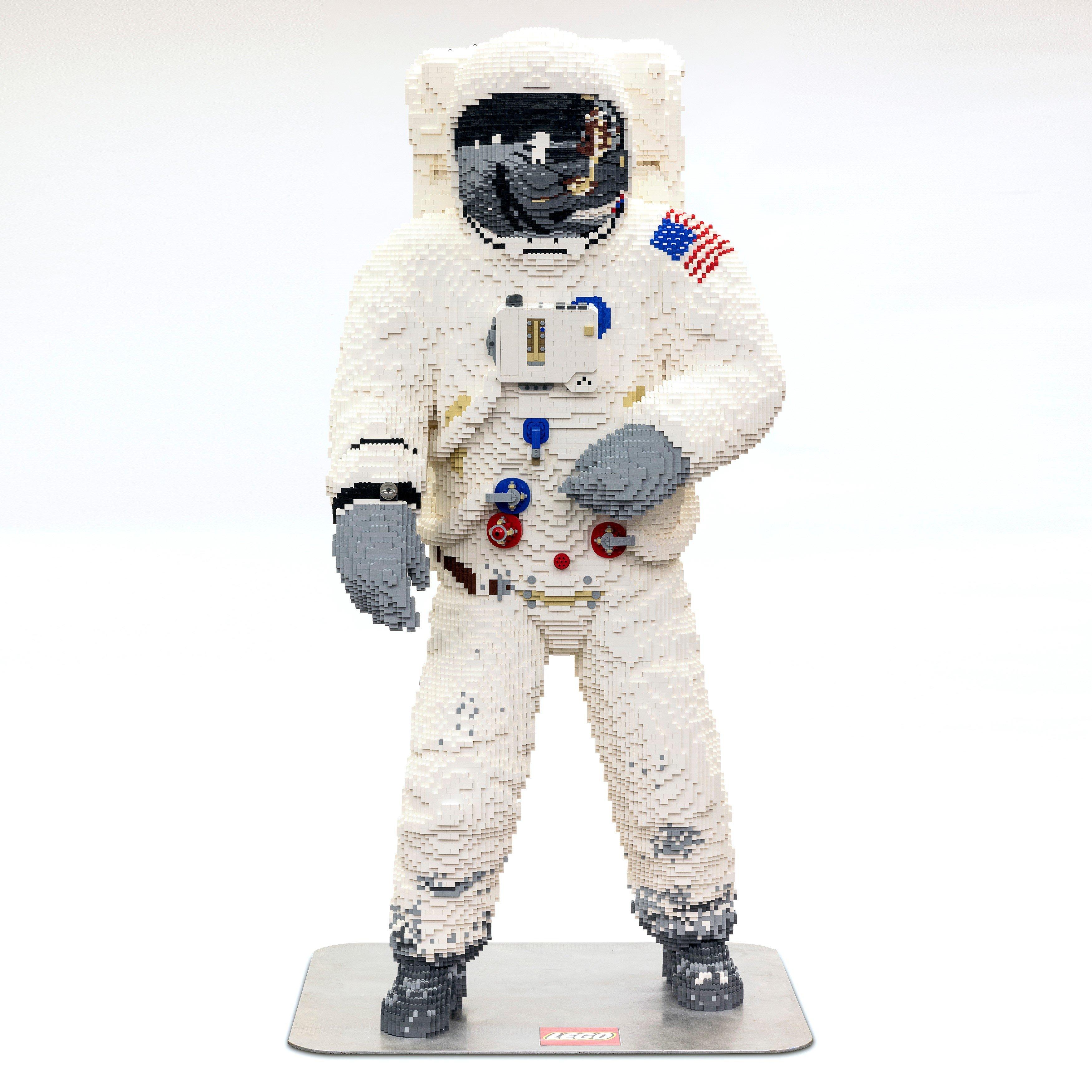 LEGO Astronaut Life Sized Model