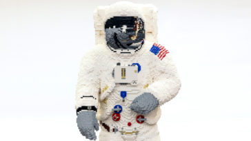 LEGO builds a life-size astronaut model for the Apollo 11 moon landing anniversary 14