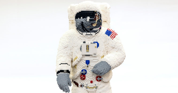 LEGO builds a life-size astronaut model for the Apollo 11 moon landing anniversary 11