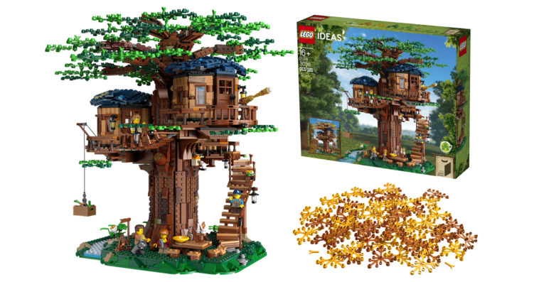This LEGO Tree House has the most number of sustainable bricks ever in a LEGO set 12