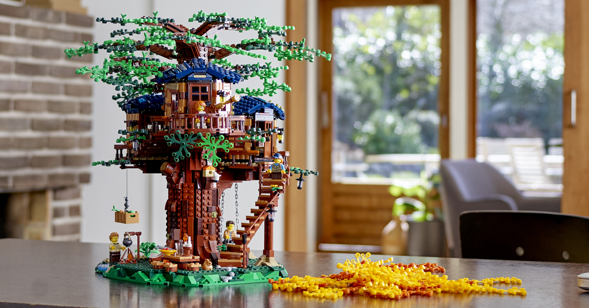 LEGO Tree House set (Lifestyle)