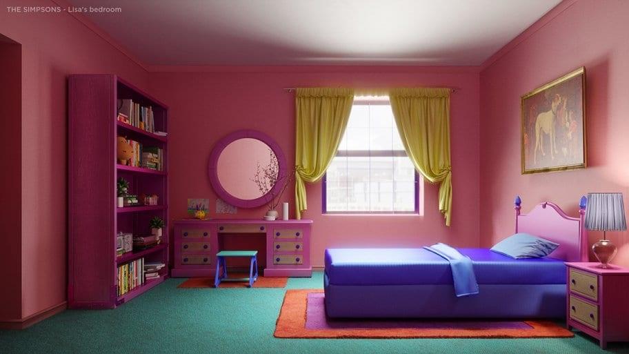 Lisa's original bedroom