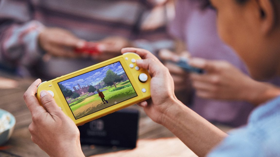 The Nintendo Switch Lite is here and there's even a Pokemon Edition 11