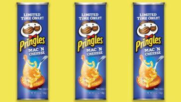 Mac N Cheese Pringles