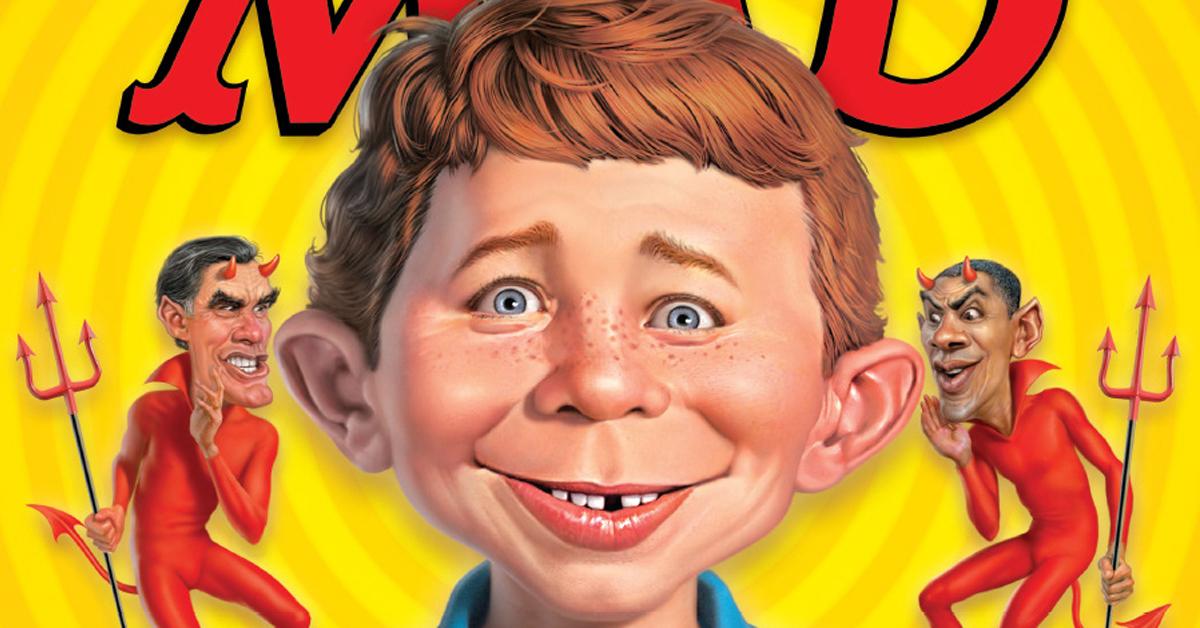 Mad magazine's mascot Alfred E. Neuman