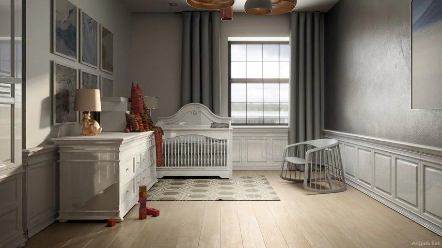 Maggie's redesigned nursery