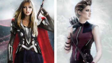 Marvel's Avengers reimagined as opposite genders 26