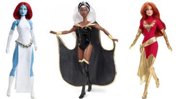 Marvel x Mattel X-Men Barbie Dolls