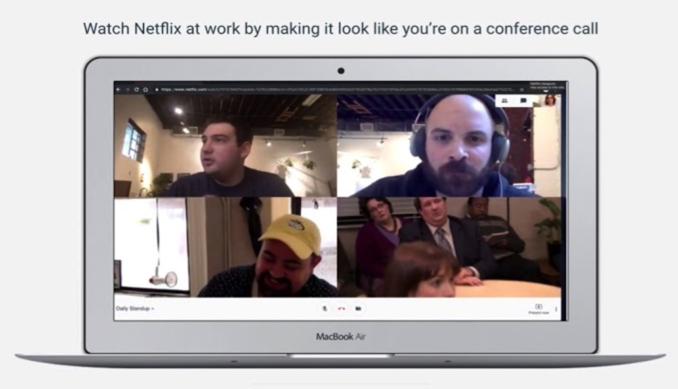 netflix hangouts 1024x588 - Here's the best way to watch Stranger Things season 3 at work without getting caught