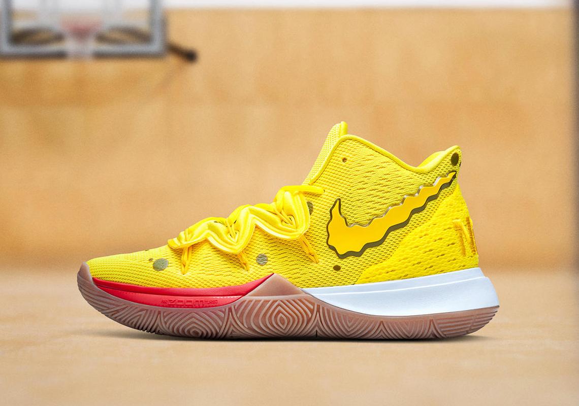 Nike Kyrie 5 SpongeBob