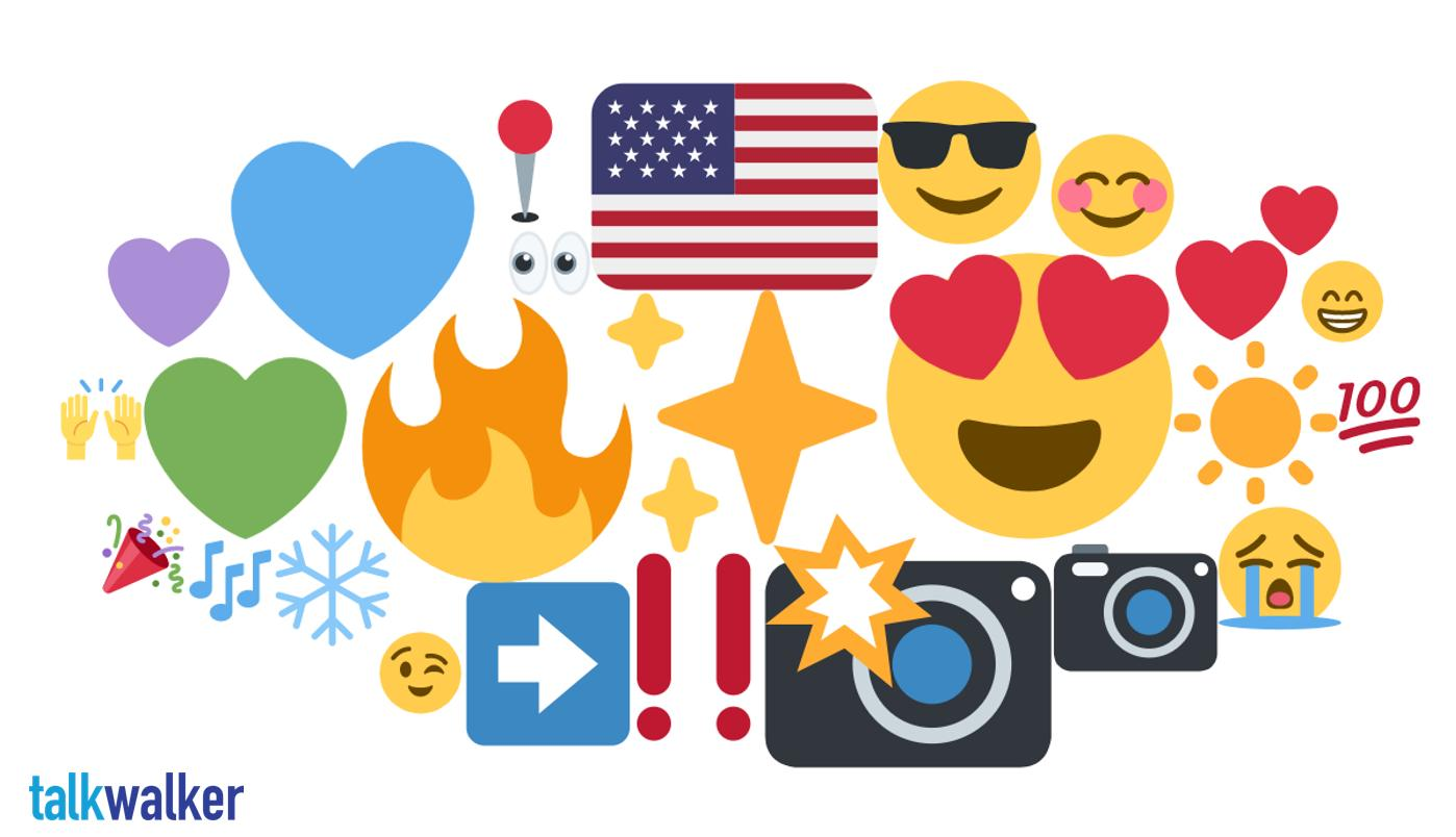 Seattle emoji heat map