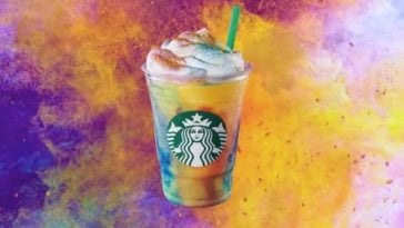 Starbucks' tie-dye frappucinos aren't caffeinated but they sure are beautiful 17