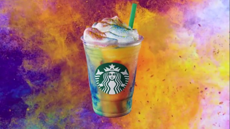 Starbucks' tie-dye frappucinos aren't caffeinated but they sure are beautiful 12