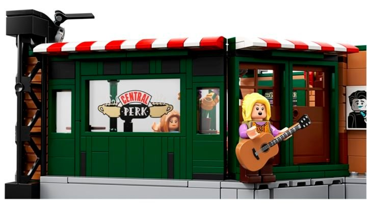 This LEGO replica of Central Perk café is a must-have memorabilia for Friends fans 12