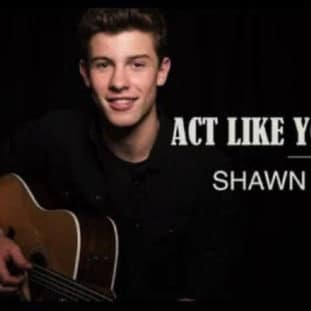 Act Like You Love Me by Shawn Mendes 20
