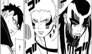 Naruto and Jigen face off in Boruto's latest chapter 13