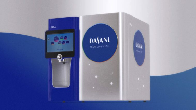 Dasani is rolling out bring-your-own-bottle water vending machines 12