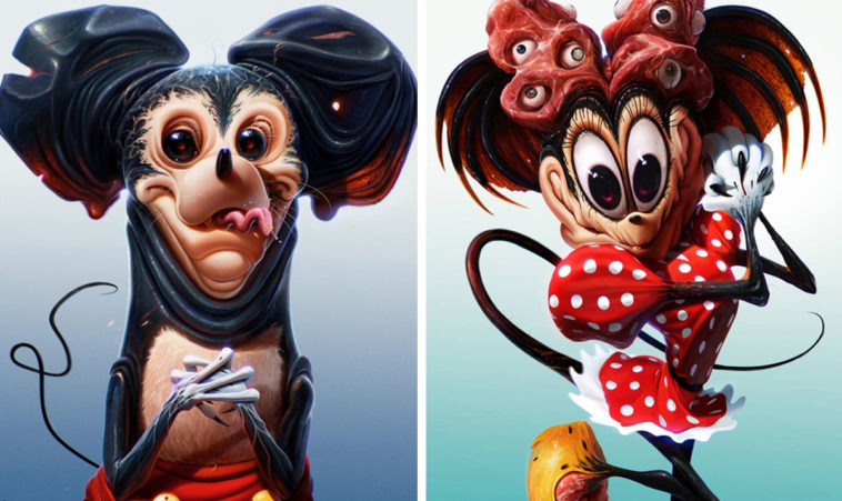 Disney characters gone bad - featured image (new)