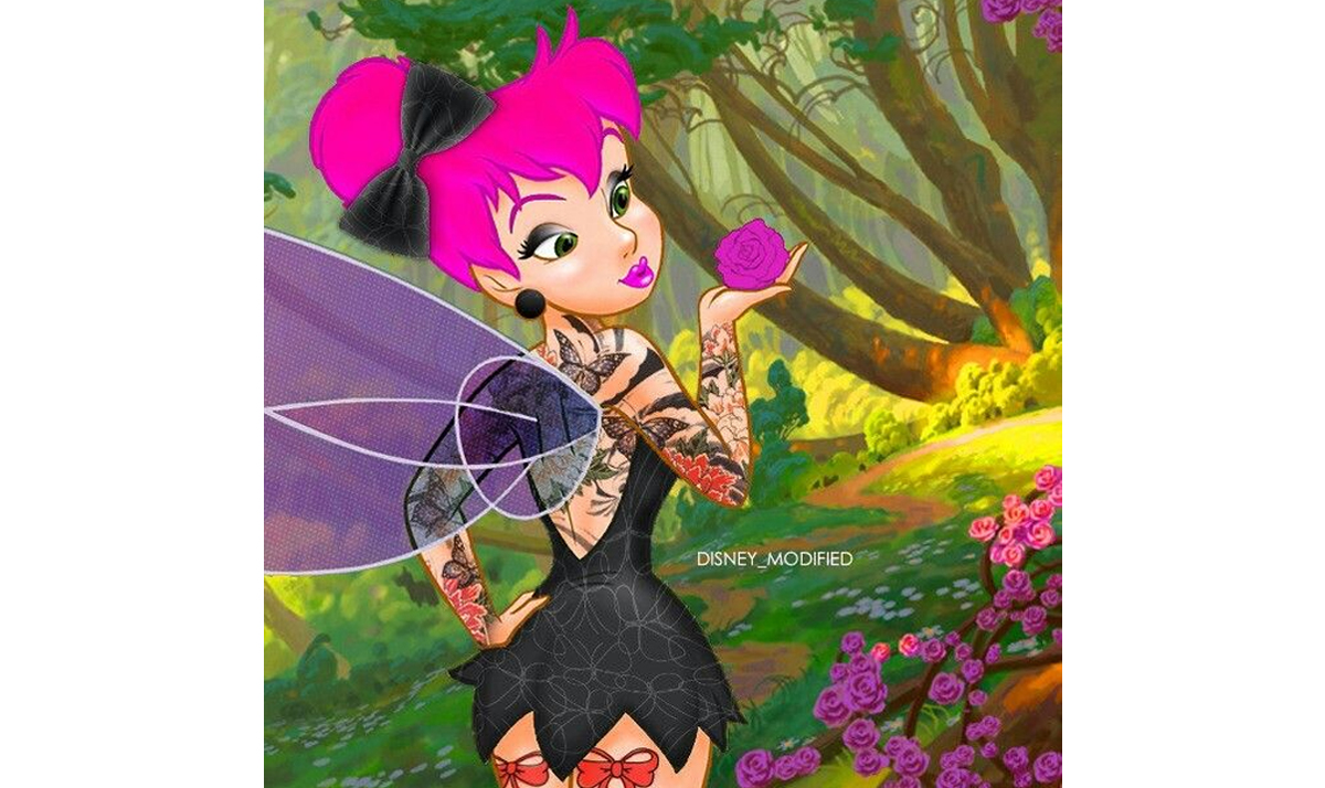 Goth Tinker Bell