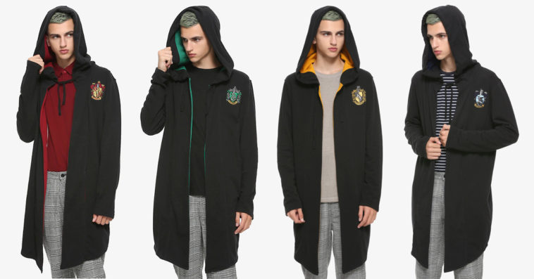 Hot Topic's Harry Potter Hoodie Cloaks