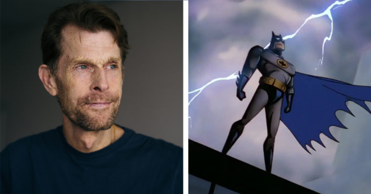 Kevin Conroy and Batman