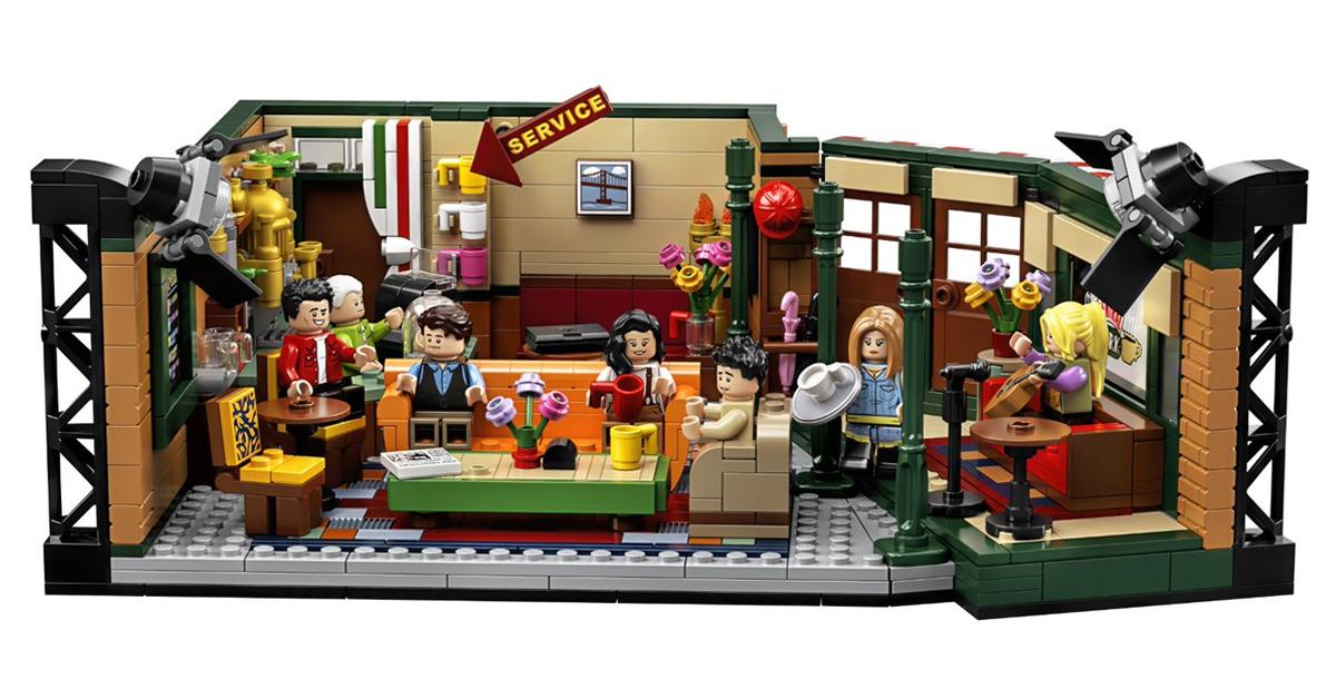 LEGO Friends' Central Perk cafe