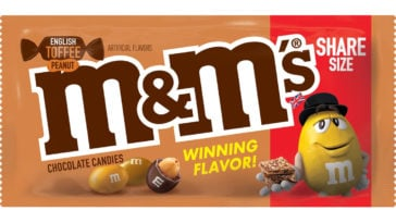 M&M's English Toffee Flavor