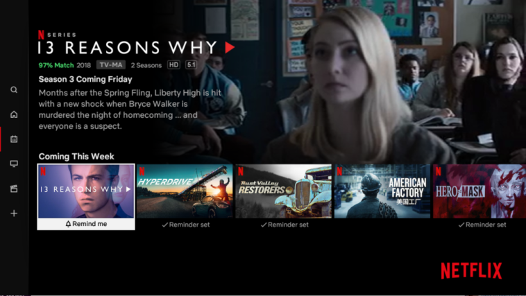 Netflix's TV app now offers reminders for new shows 12