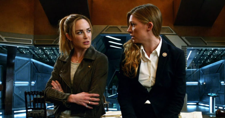 Sara and Ava in Legends of Tomorrow