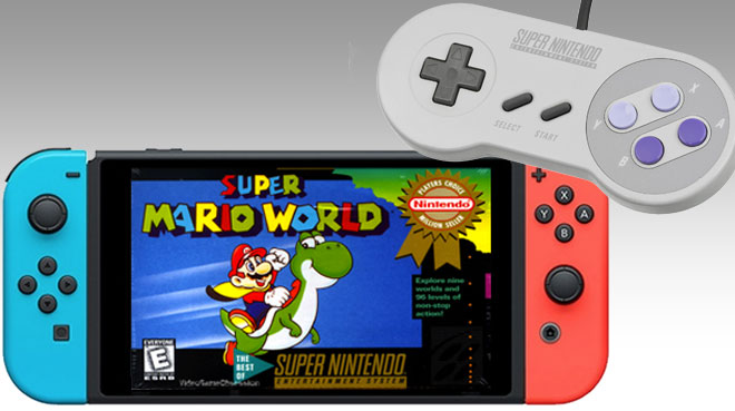 snes nintendo switch - Nintendo might release SNES games and controllers for the Switch
