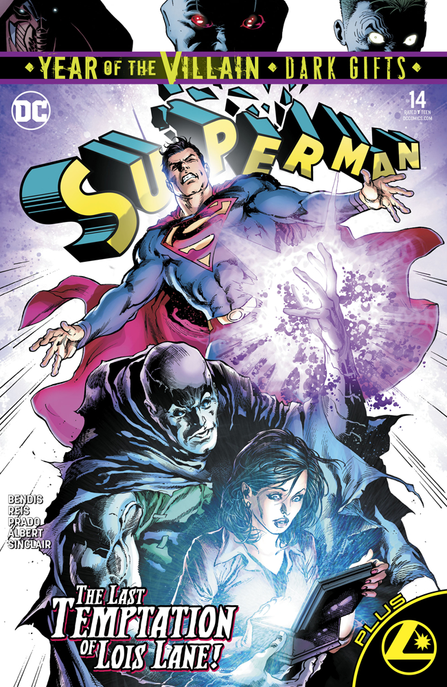 Original cover of Superman #14