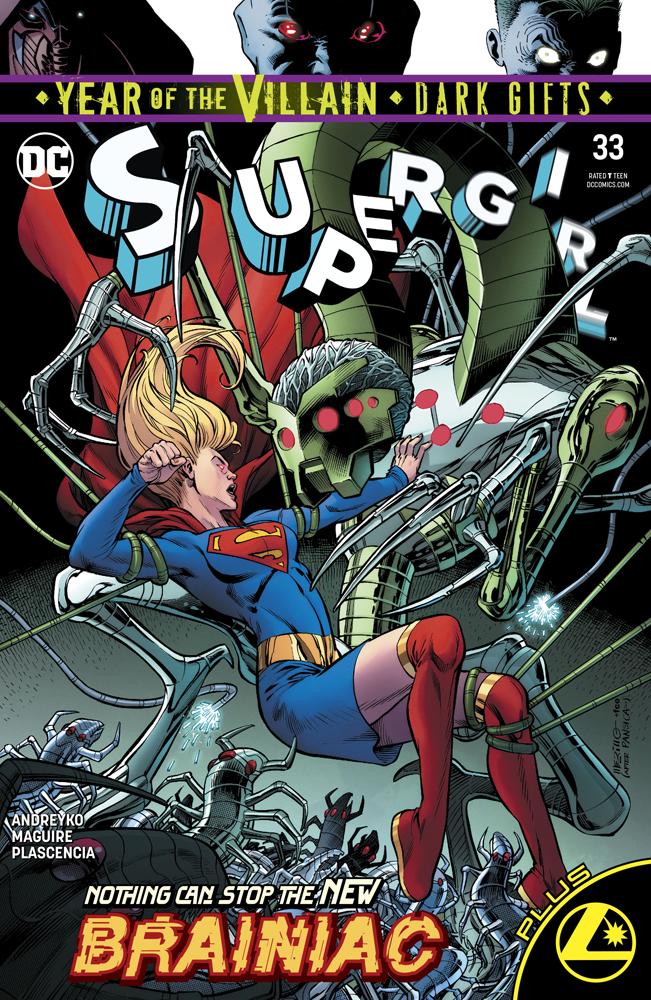 Original cover of Supergirl #33