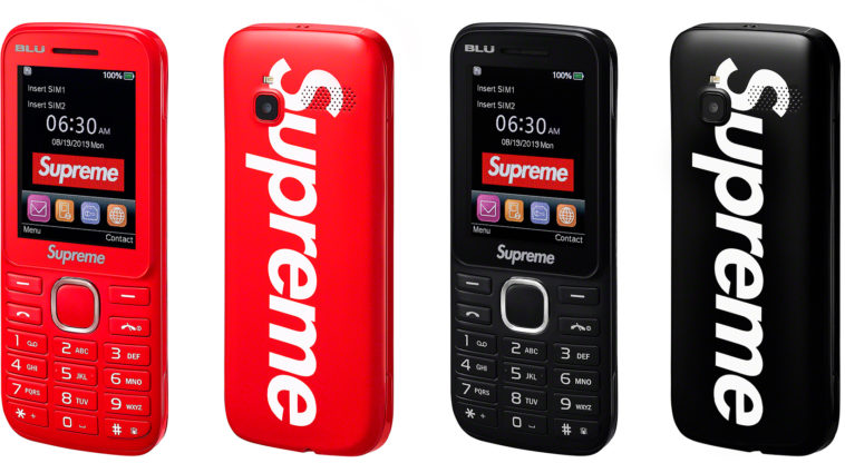 Supreme has come out with a burner phone 11