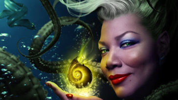 Queen Latifah as Ursula in ABC's The Little Mermaid live musical