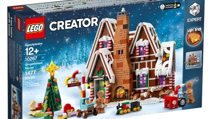 This tasty-looking LEGO Gingerbread House makes a perfect Christmas centerpiece 18